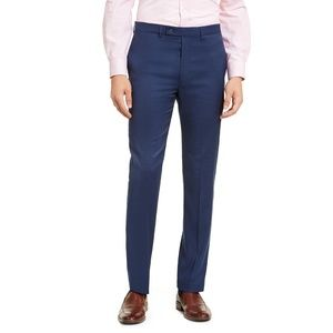 NWT 40x32 Calvin Klein Navy Blue Dress Pants